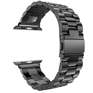 Apple Watch Band Black Stainless Steel 42mm